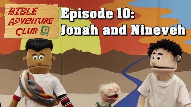Bible Adventure Club Jonah and Nineveh