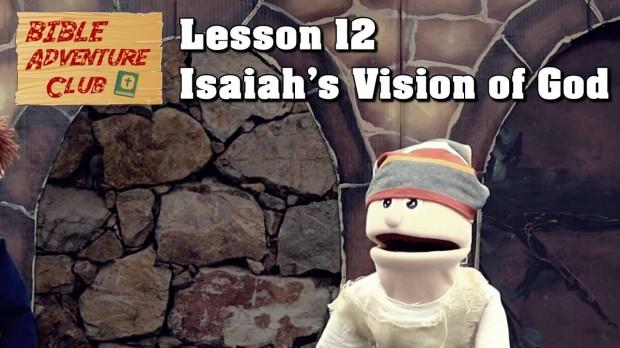 Bible Adventure Club Lesson 12