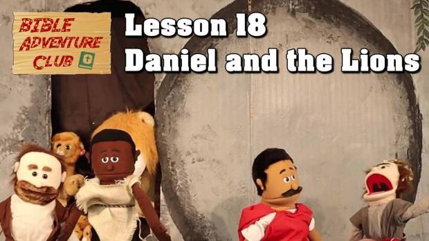 Bible Adventure Club Lesson 18