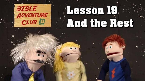 Bible Adventure Club: Episode 19
